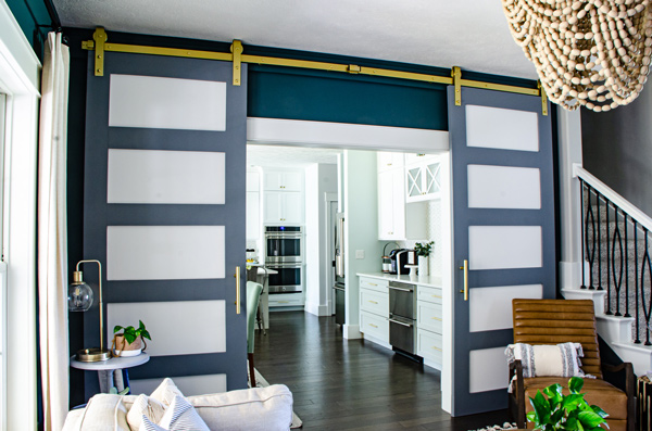 News Alert: Haute House Love's Brushed Gold Barn Doors preview image