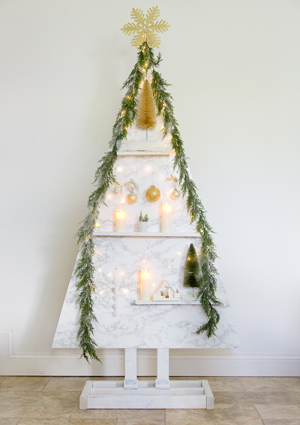 DIY Modern Wood Christmas Tree By Shabyfufu preview image